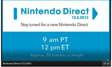 Nintendo Direct 12.05.2012