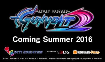 Trailer for Azure Striker Gunvolt 2 released