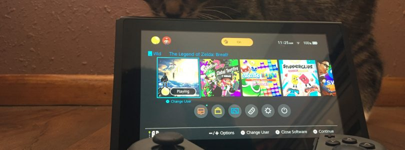 Nintendo Switch UI sucks - Let's fix that