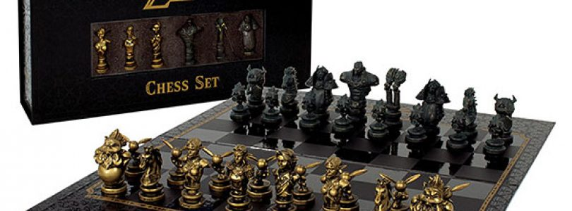 Infendo Giveaway! Win a Zelda chess set!